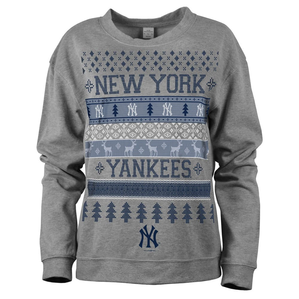 NEW YORK YANKEES Women's Holiday Sweatshirt - YANKEES
