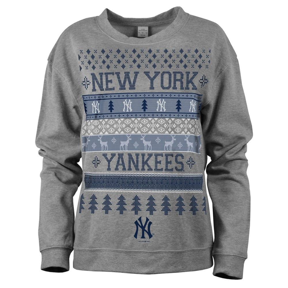 NEW YORK YANKEES Women's Holiday Sweatshirt - YANKEES