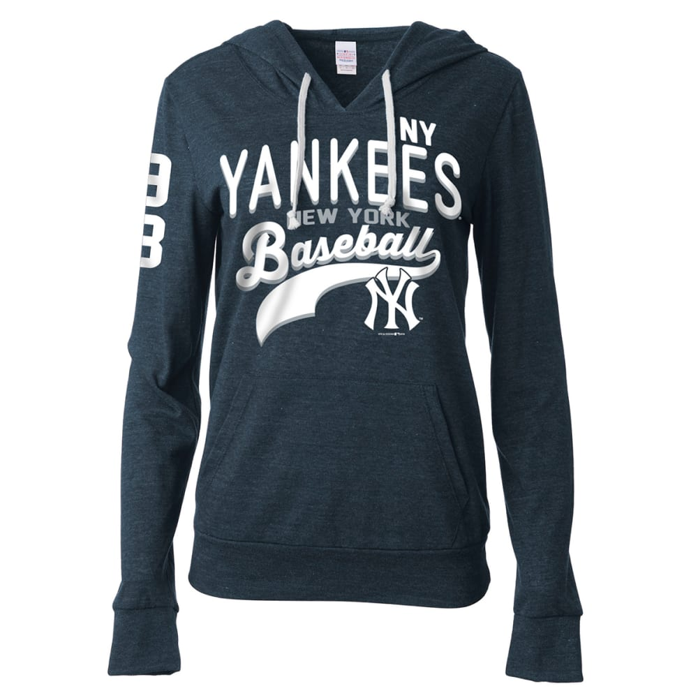 NEW YORK YANKEES Women's Lightweight Pullover Hoodie - YANKEES