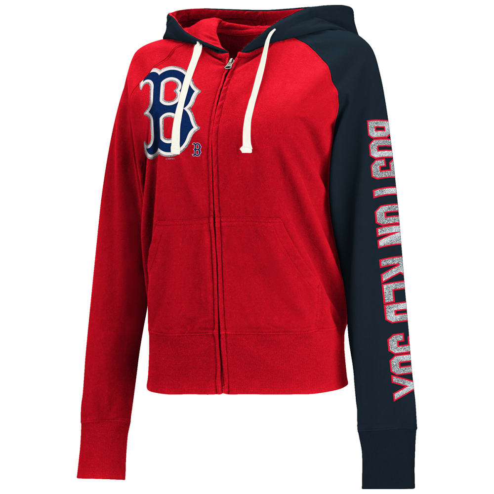 BOSTON RED SOX Women's Southpaw Hoodie - RED SOX