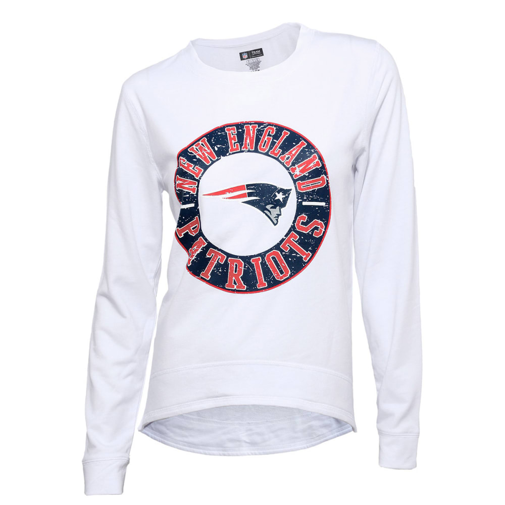 NEW ENGLAND PATRIOTS Women's Home Field High-Low Top - WHITE