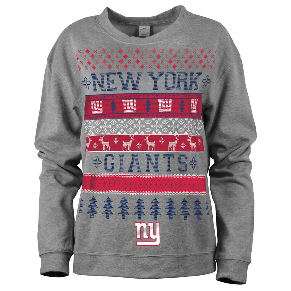 NEW YORK GIANTS Women's Holiday Sweatshirt - GIANTS