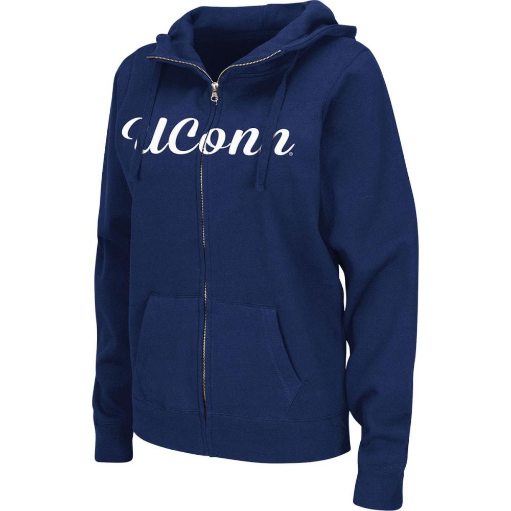 UCONN Women's Aurora Full-Zip Hoodie - NAVY