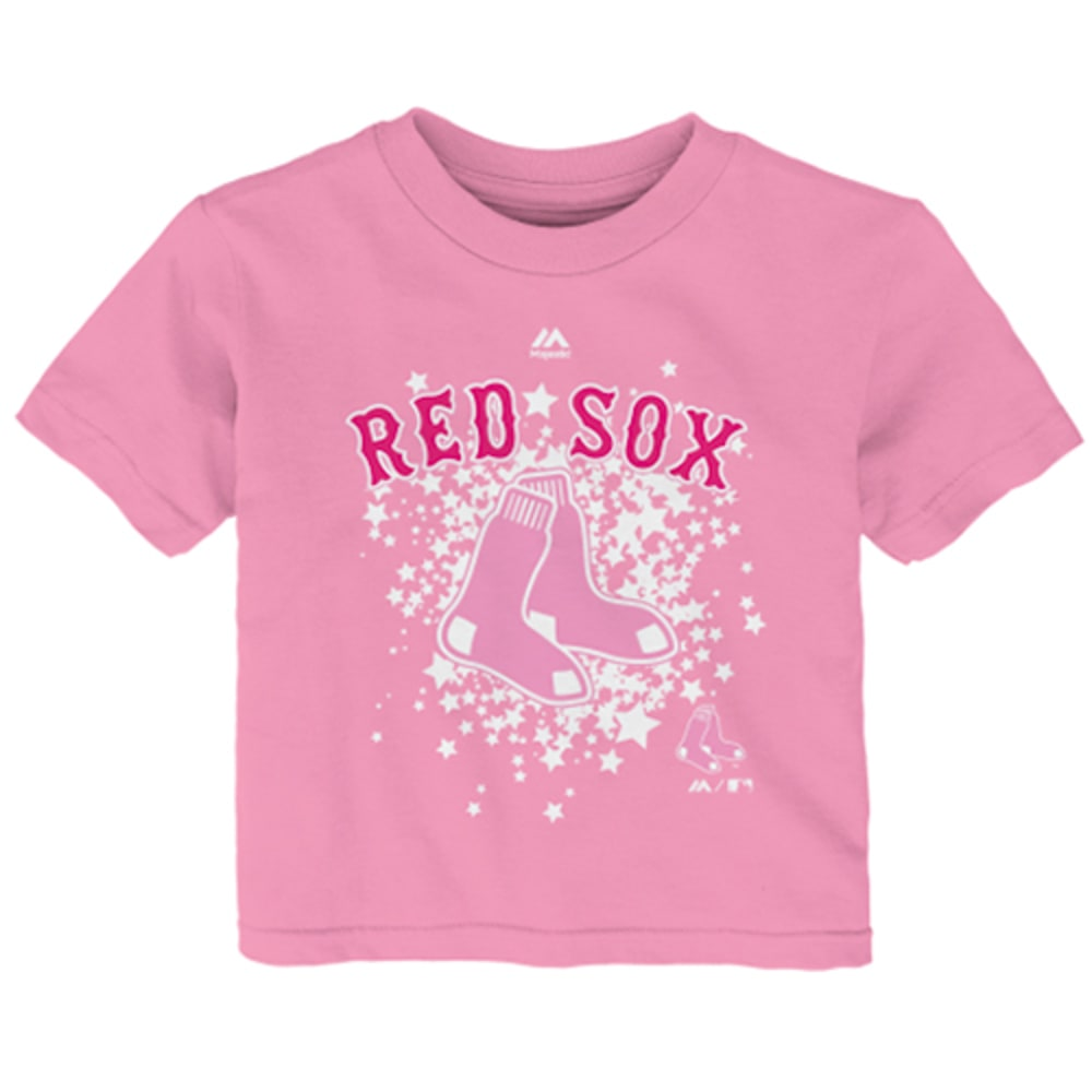 BOSTON RED SOX Girls' Pouring on Stars Tee - RED SOX