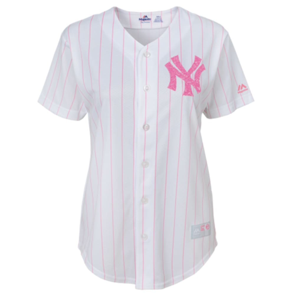 NEW YORK YANKEES Girls' Pink Jersey - YANKEES