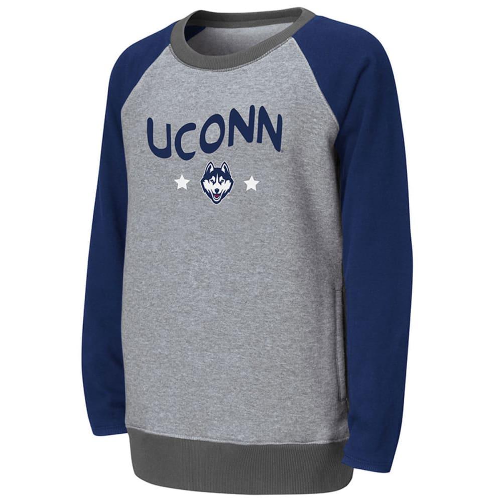 UCONN Girl's Aurora Fleece Tunic - ONYX