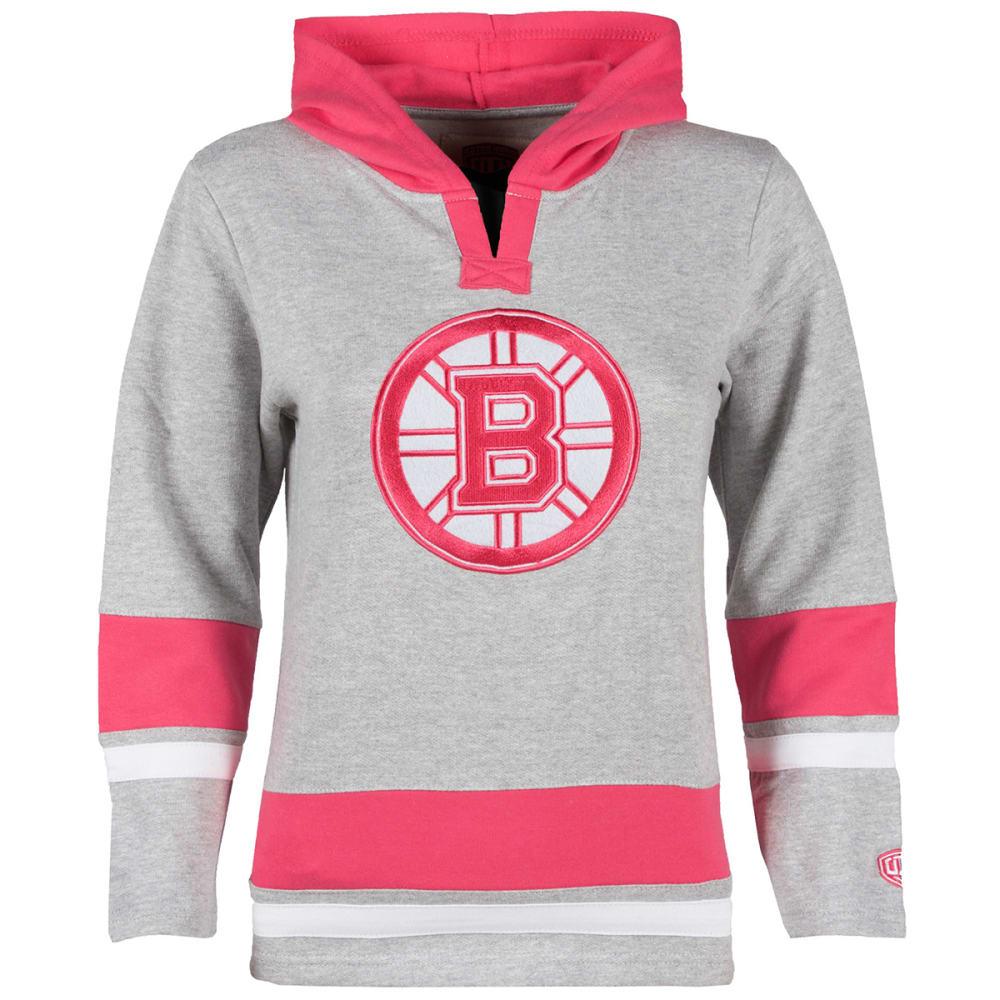 BOSTON BRUINS Girl's Jasper Hoodie - PINK