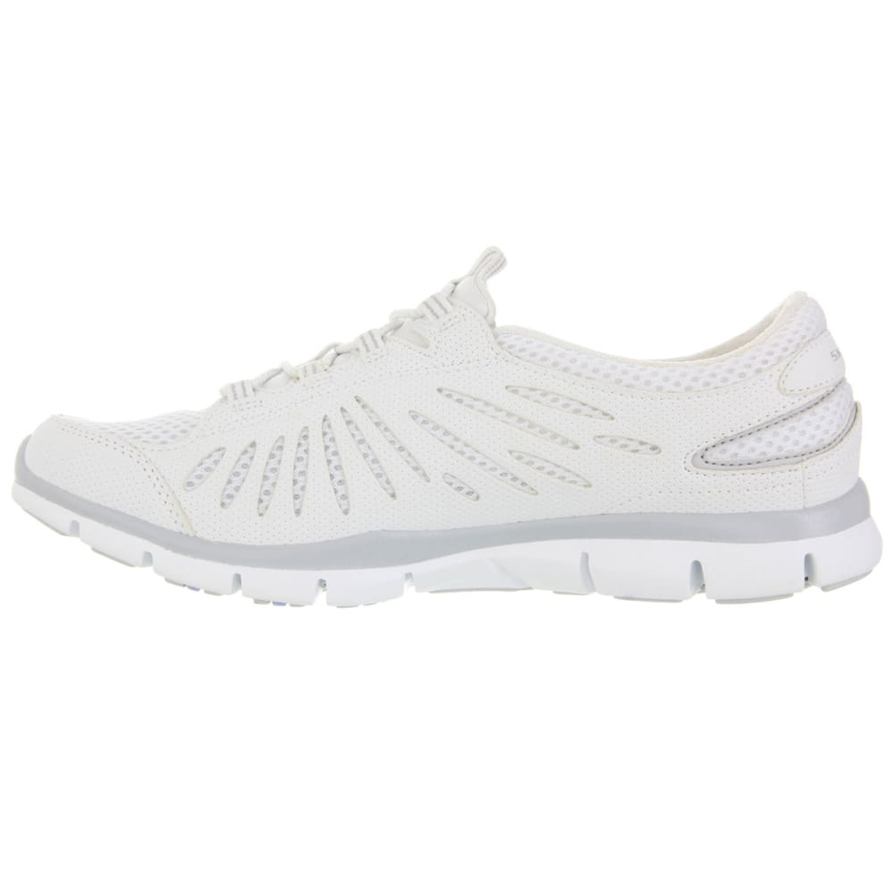 SKECHERS Women's Gratis-Big Idea Bungee Sneakers - WHITE