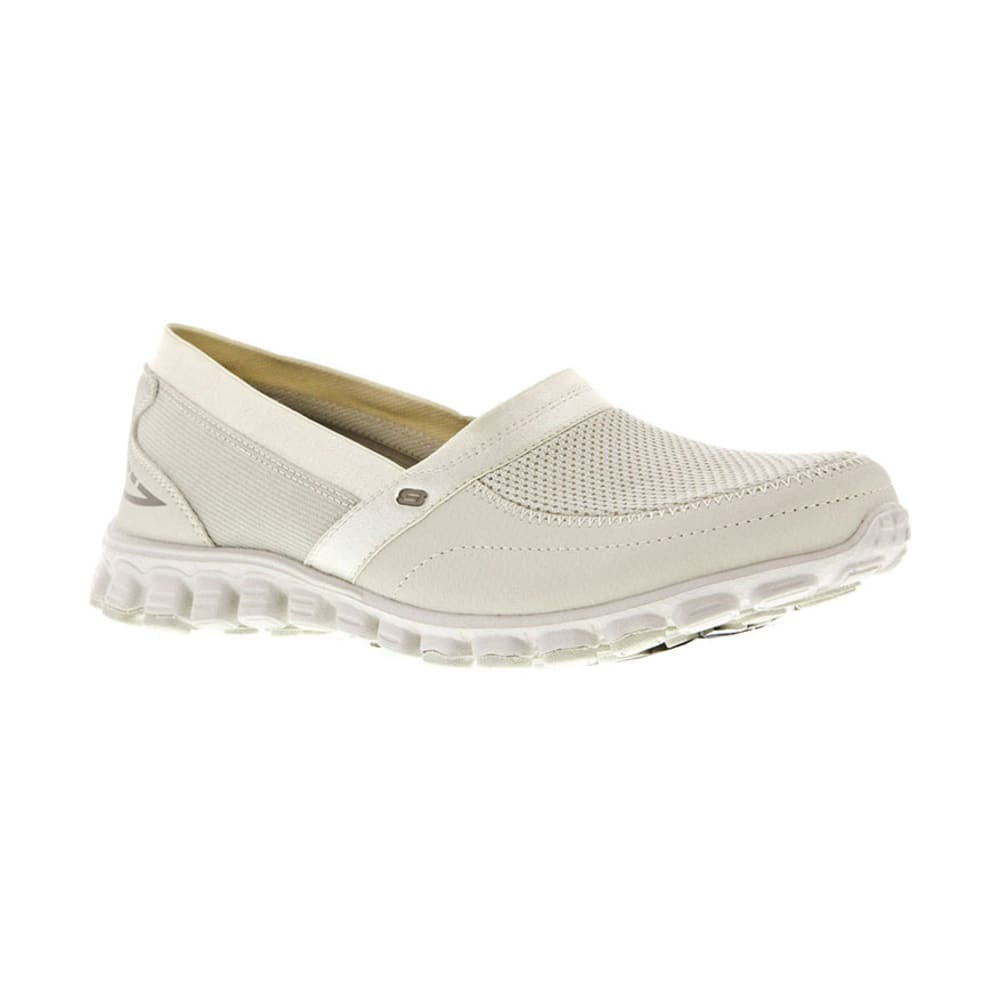 SKECHERS Women's EZ Flex Take It Easy Slip-On Shoes - NATURAL