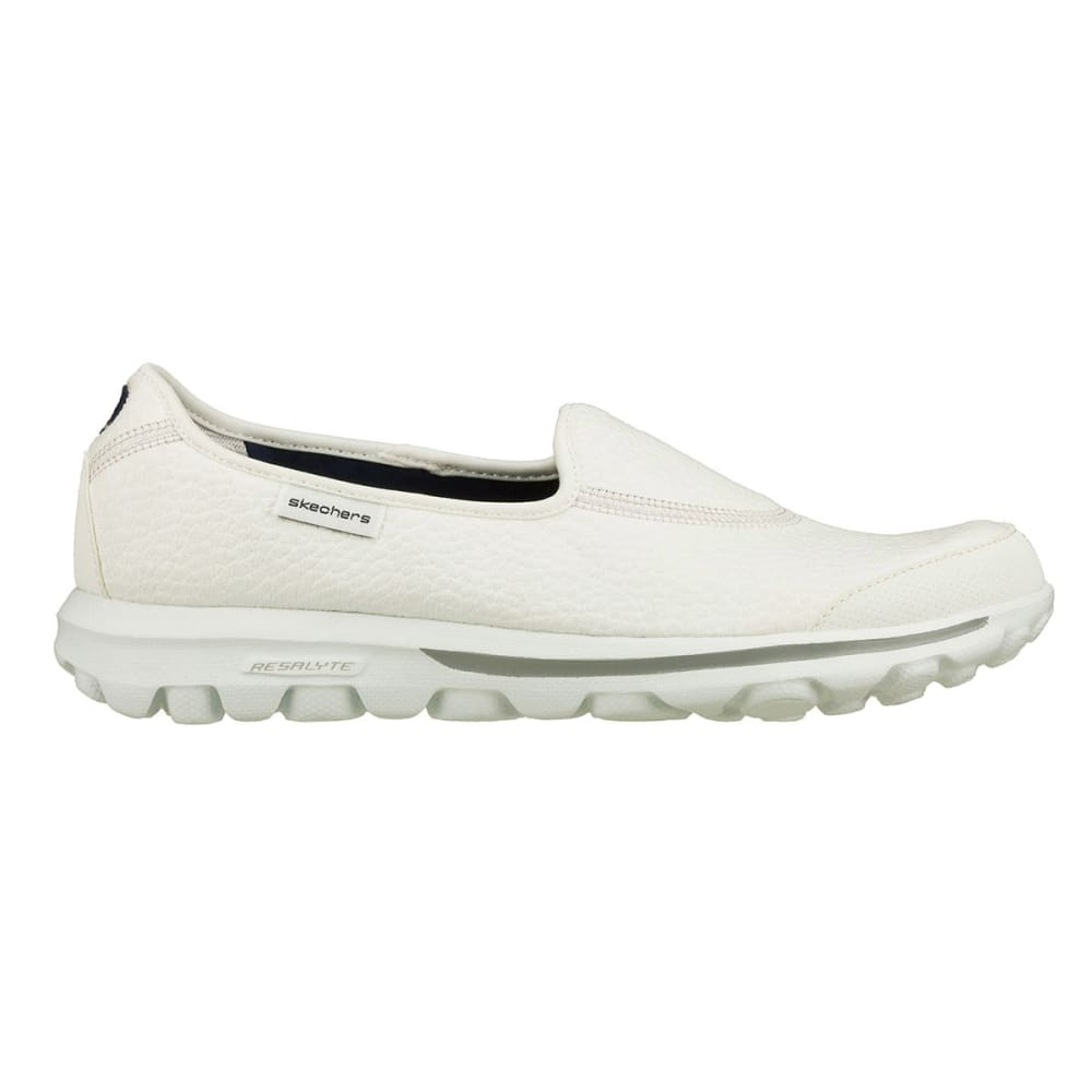 SKECHERS Women's GOWalk Memory Foam Walking Shoes - WHITE