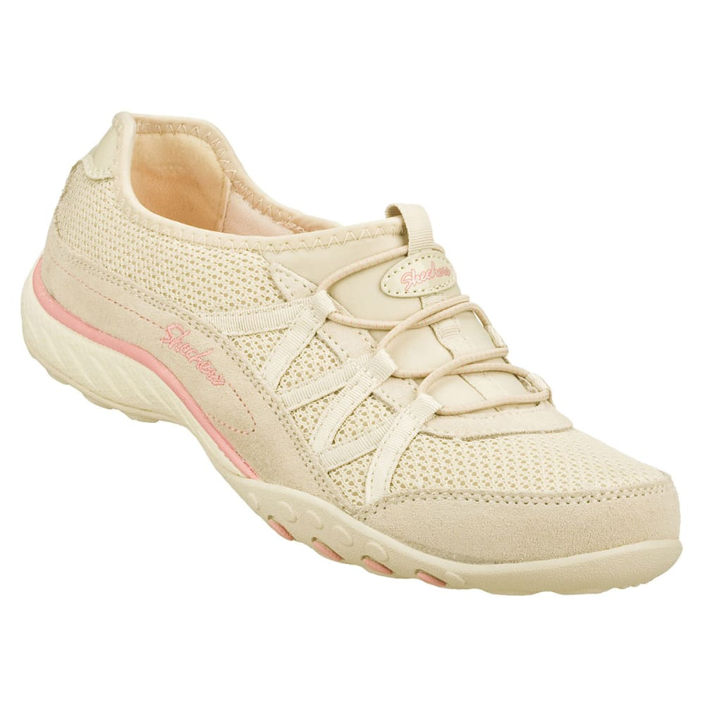 SKECHERS Women's Relaxed Fit Breathe Easy Relaxation Shoes - NATURAL