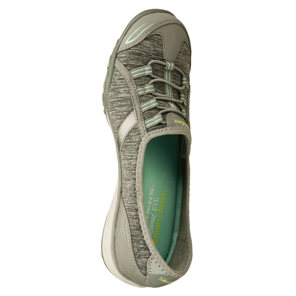 SKECHERS Women's Relaxed Fit: Breathe Easy-Good Life Shoes - GRY/AQUA