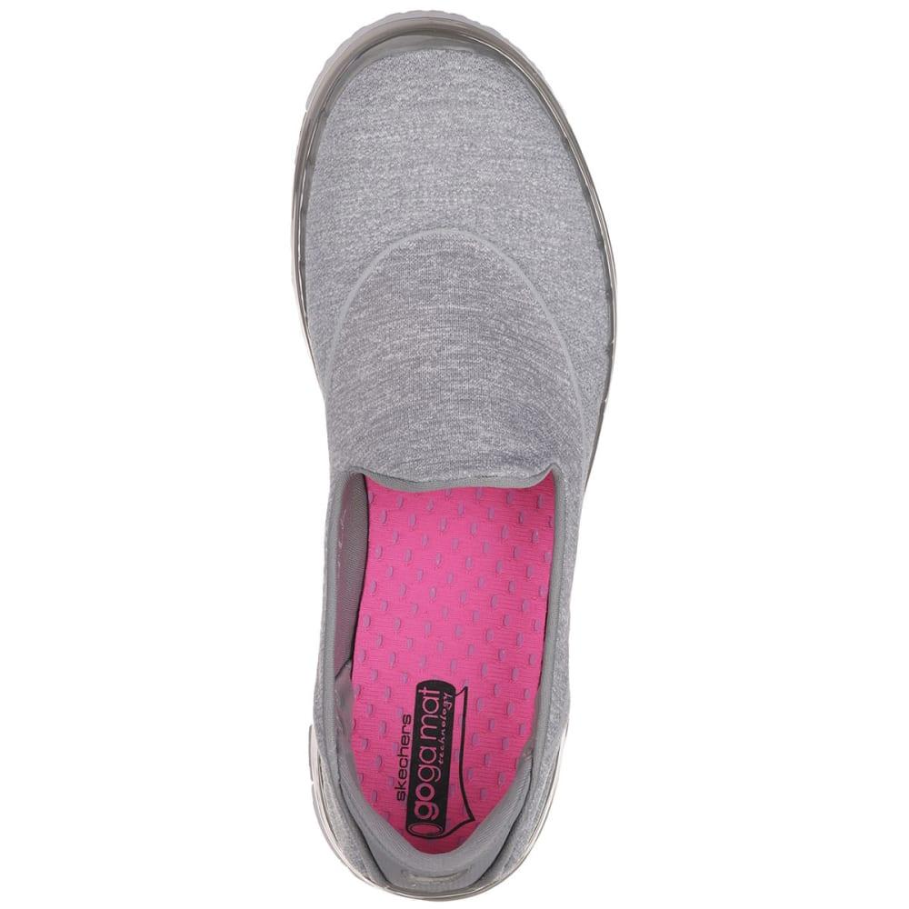 SKECHERS Women's Go Flex Slip On Sneakers - GREY