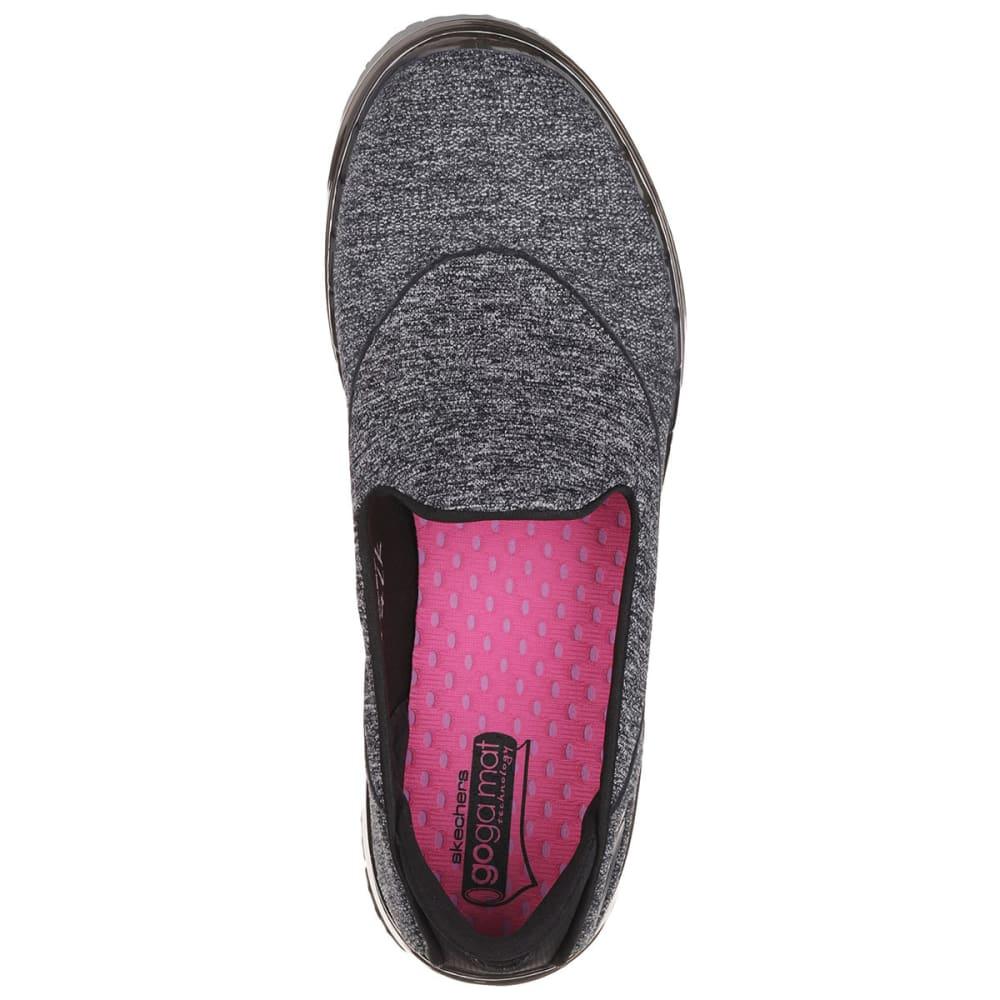 SKECHERS Women's Go Flex Slip On Sneakers - BLACK