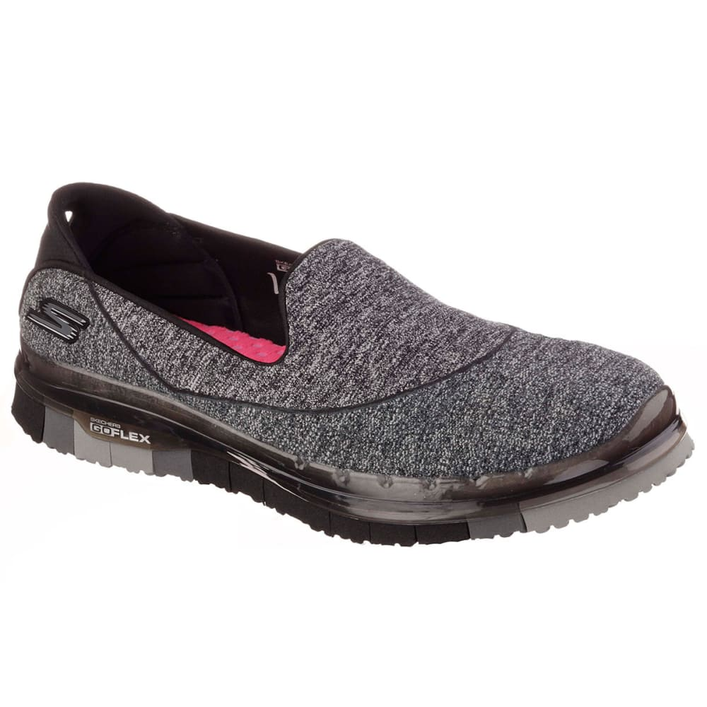 SKECHERS Women's Go Flex Slip On Sneakers - BLACK