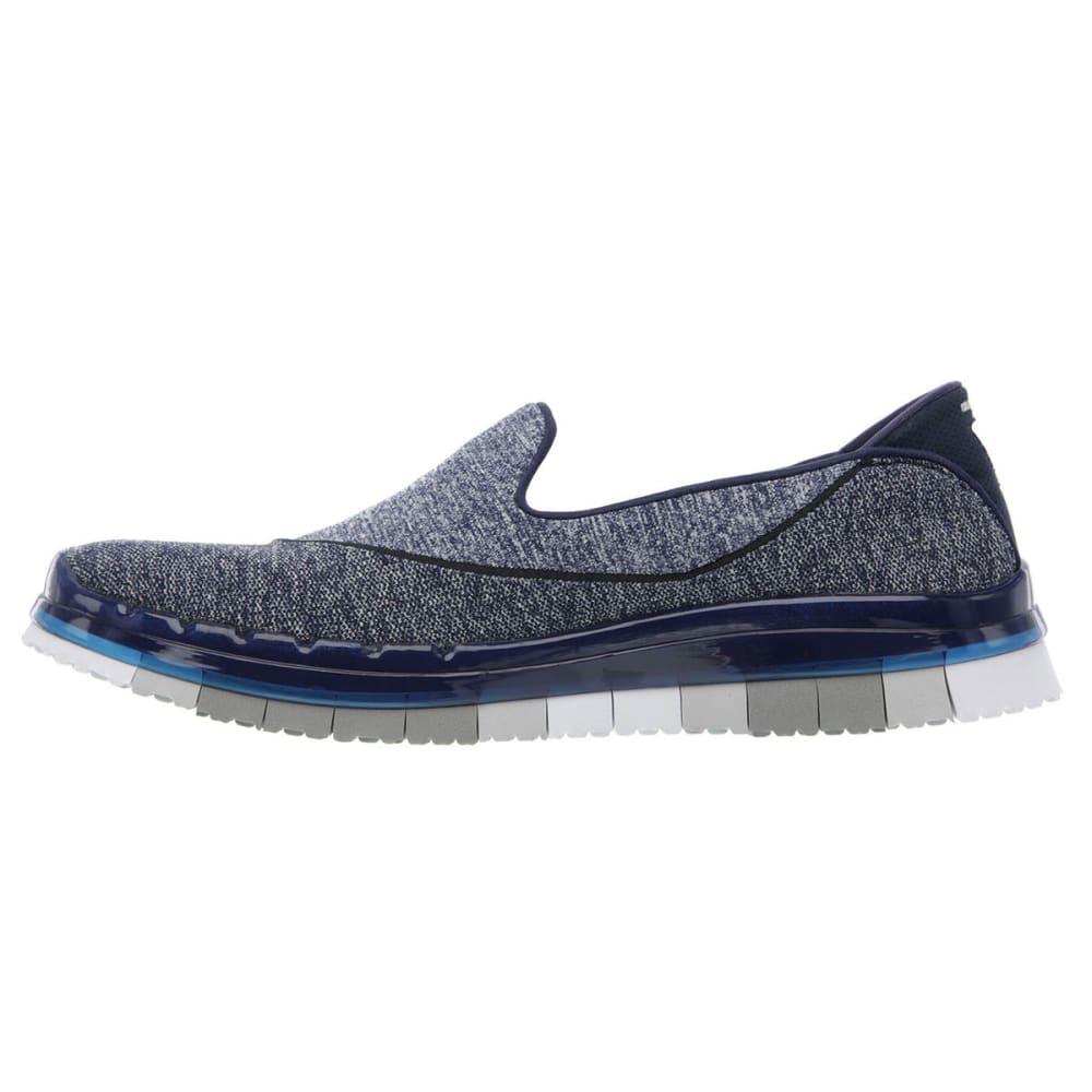 SKECHERS Women's Go Flex Slip On Sneakers - NAVY