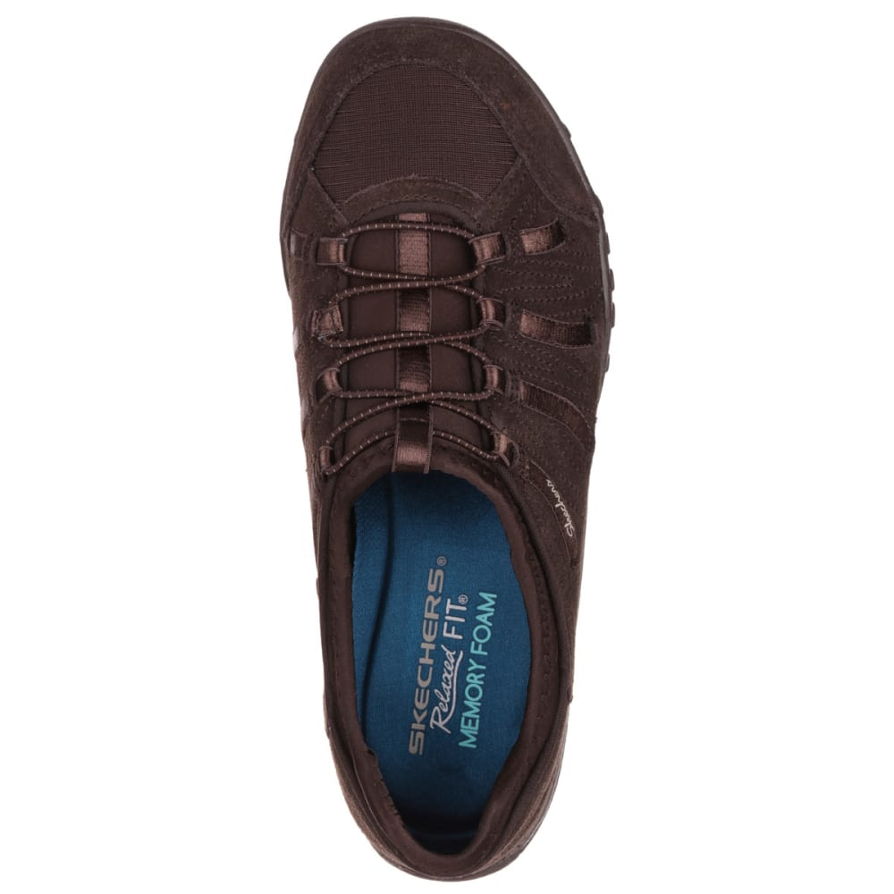 SKECHERS Women's Relaxed Fit: Breathe Easy – Big Bucks Shoes - BROWN