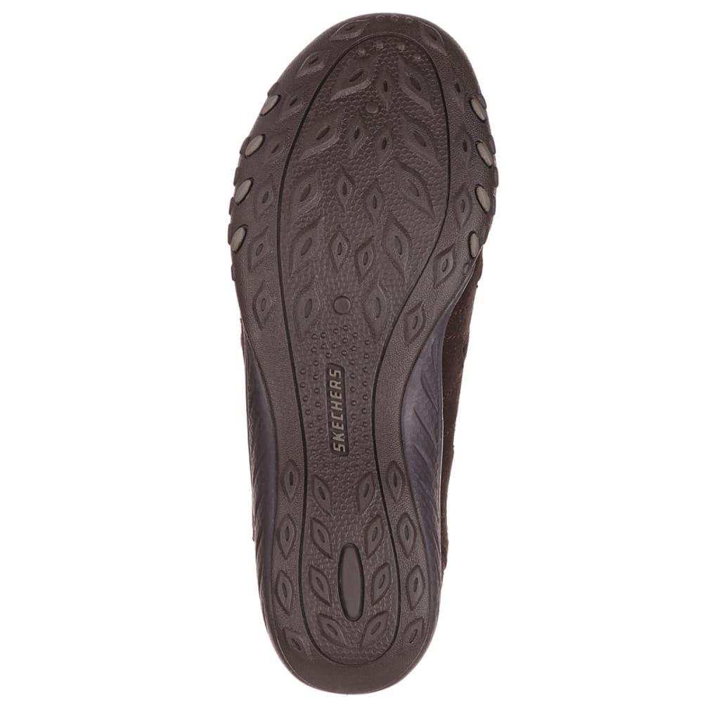 SKECHERS Women's Relaxed Fit: Breathe Easy – Big Bucks Shoes - BROWN