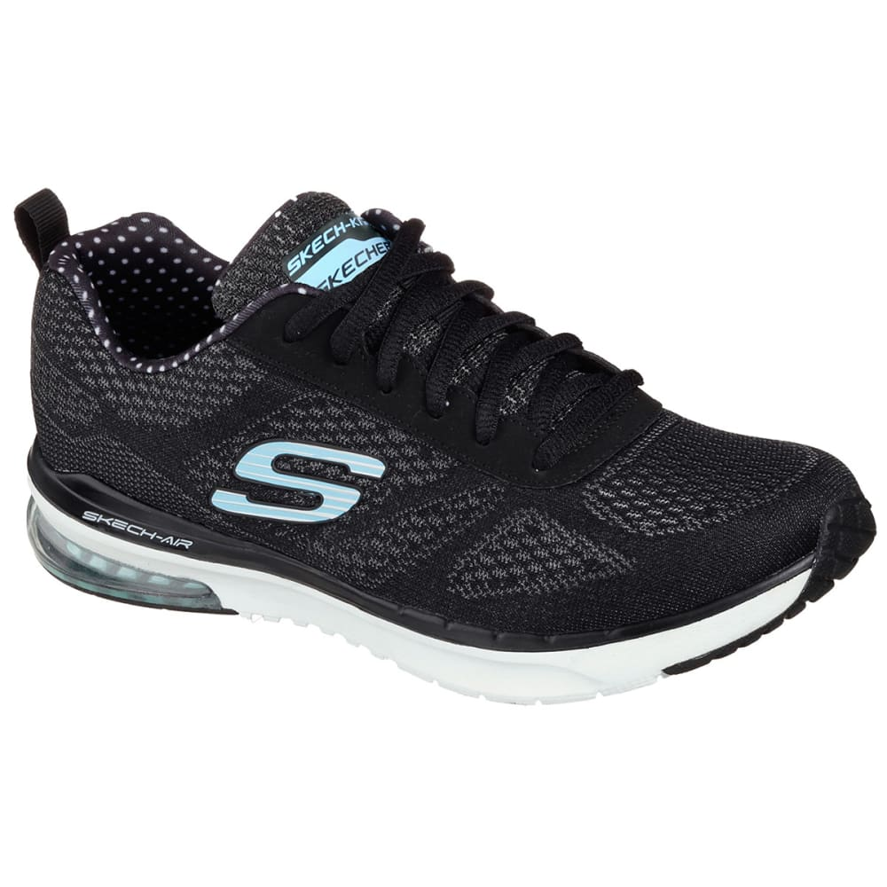 SKECHERS Women's Skech-Air Infinity Shoes - BLACK