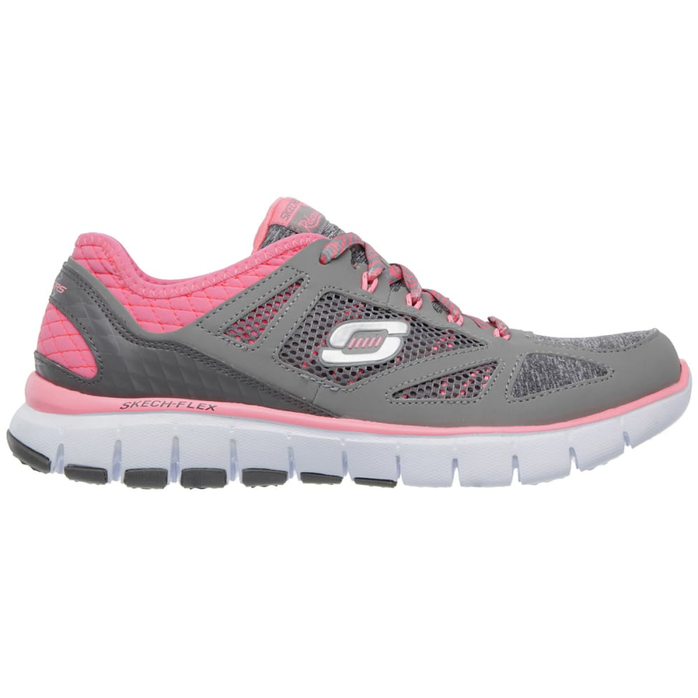 SKECHERS Women's Relaxed Fit: Skech-Flex – Style Source Shoes - GREY