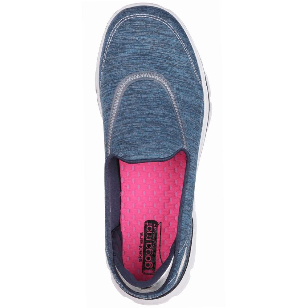 SKECHERS Women's GOwalk 3 Reboot Slip On Shoes - BLUE
