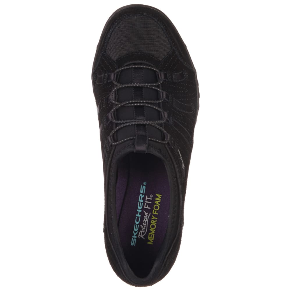 SKECHERS Women's Relaxed Fit® Breathe Easy Big Bucks Shoes - BLACK