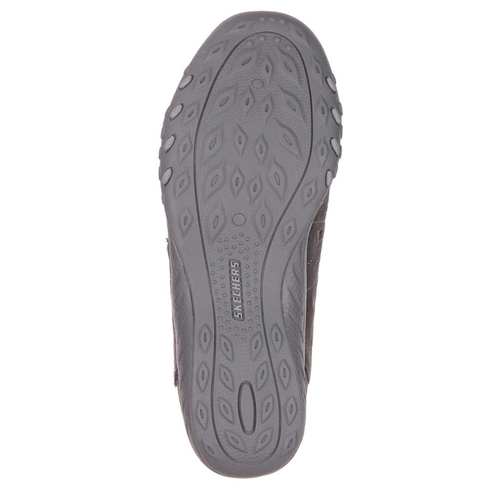 SKECHERS Women's Relaxed Fit® Breathe Easy Big Bucks Shoes - CHARCOAL