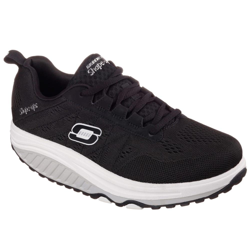SKECHERS Women's Shape-Ups 2.0 Shoes - BLACK/WHITE