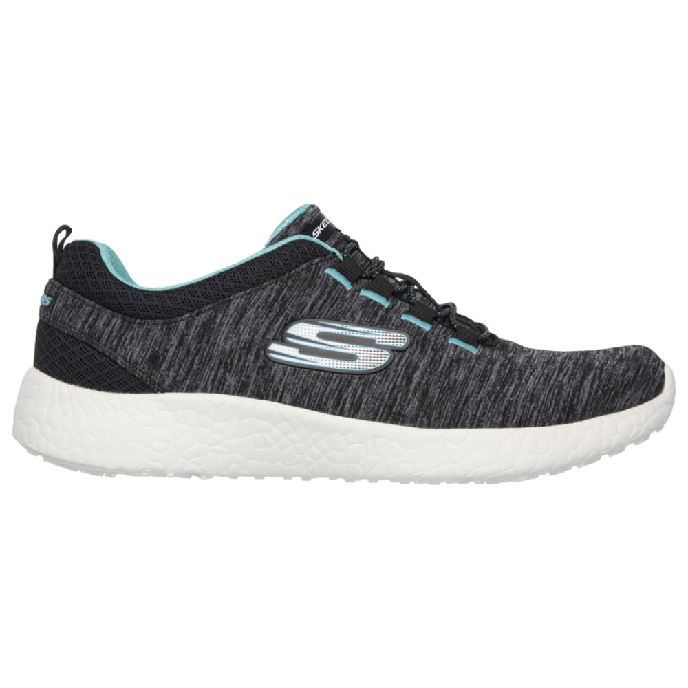 SKECHERS Women's Burst- Equinox Training Shoes - BLACK FLORAL