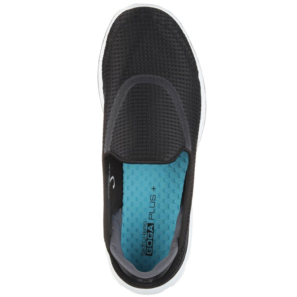 SKECHERS Women's GOwalk 3-Unfold Shoes - BLACK/NEPTUNE
