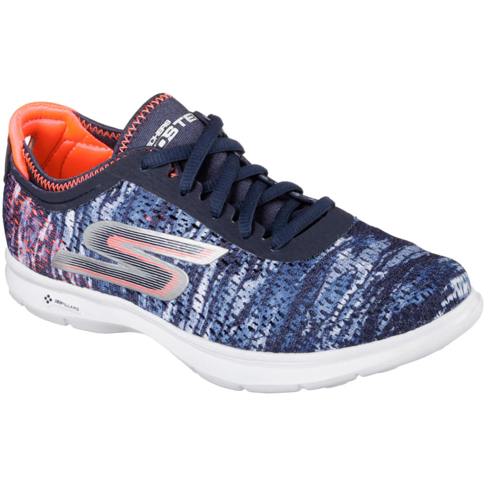 SKECHERS Women's GO STEP Sneakers - ANCHOR BLUE
