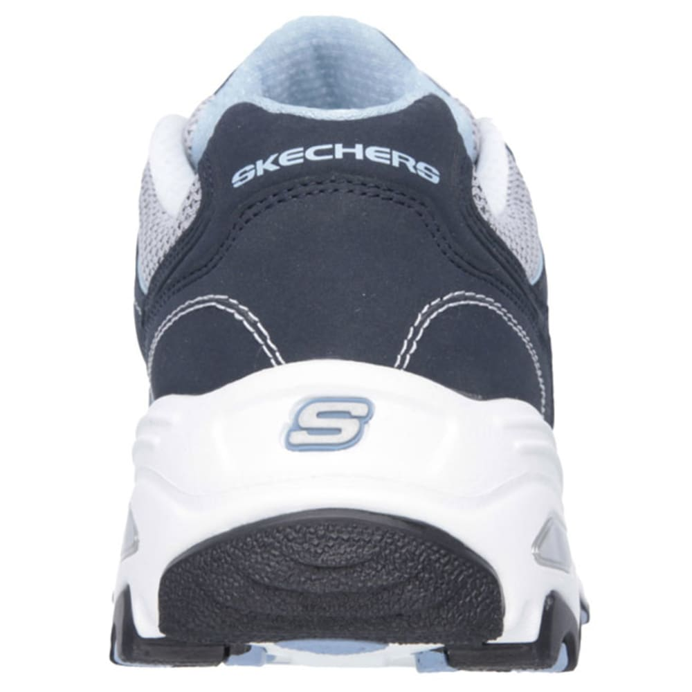 SKECHERS Women's D'lites-Life Saver Sneakers - ANCHOR BLUE