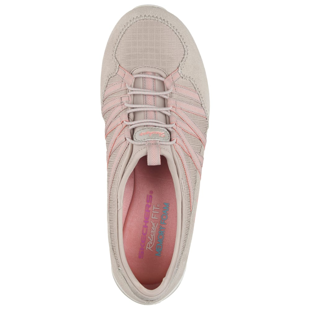 SKECHERS Women's Relaxed Fit: Conversations- Holding Aces Shoes - HEATHER OATMEAL