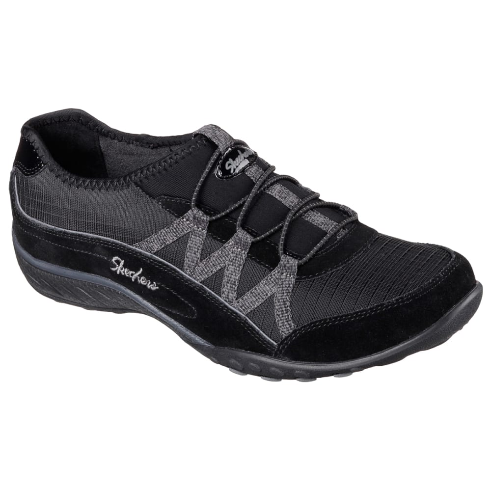 SKECHERS Women's Relaxed Fit: Breathe Easy-Big Break Shoes - BLACK/NEPTUNE