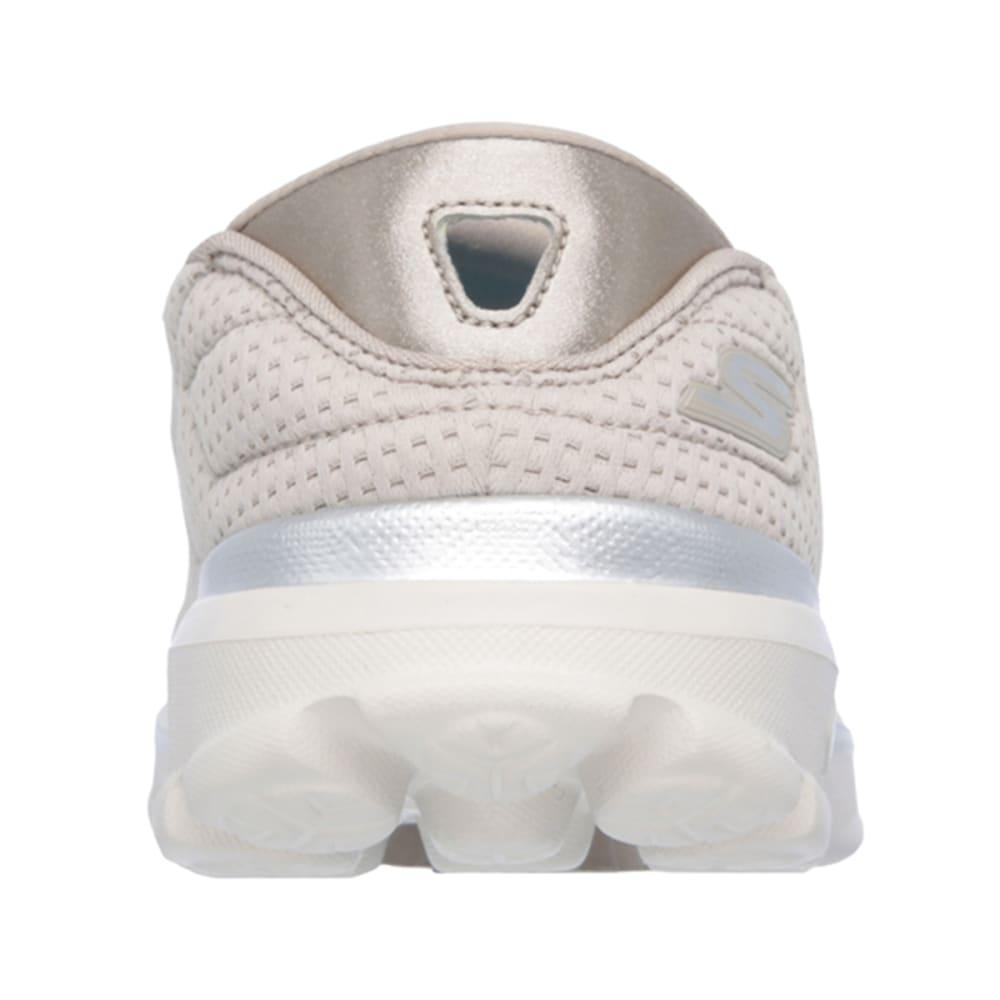 SKECHERS Women's GOwalk 3-Unfold Shoes - HEATHER OATMEAL