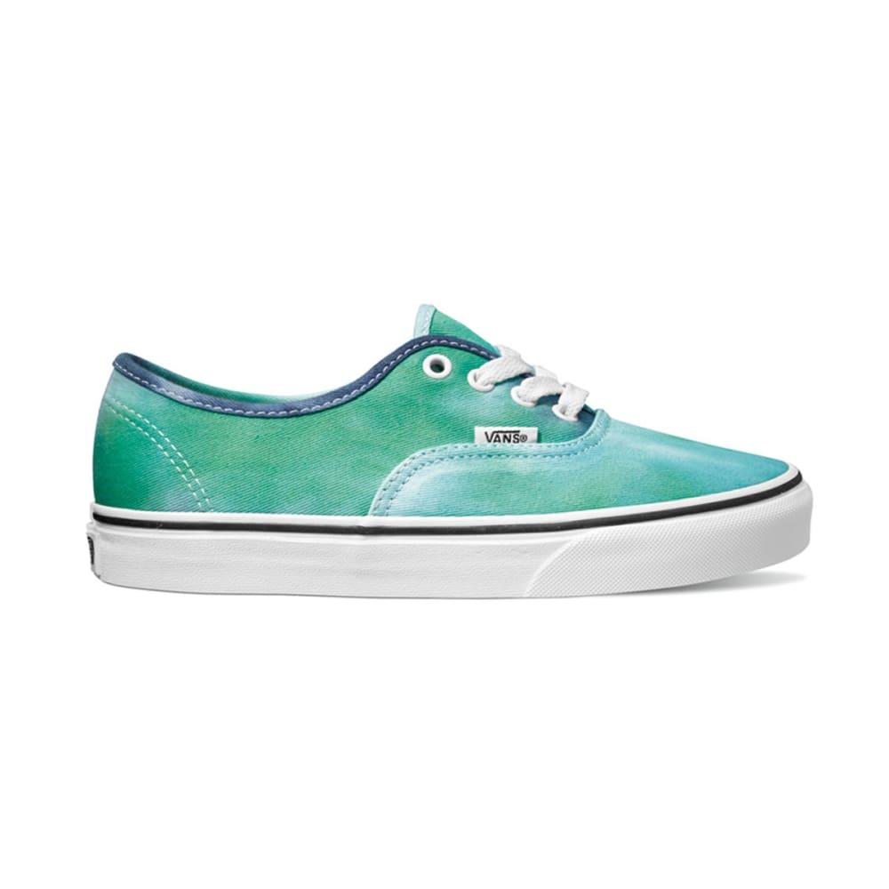 VANS Unisex Authentic Tie Dye Shoes - BLUE PTRND