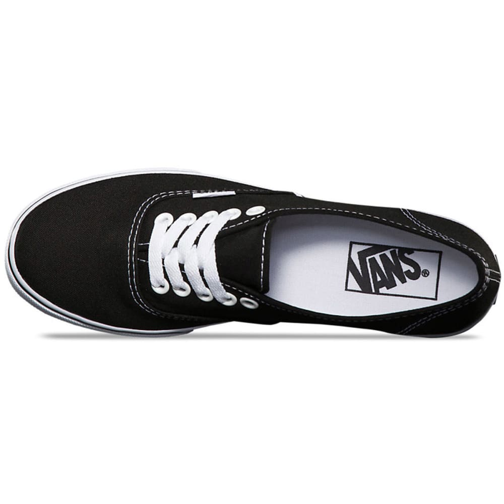 VANS Unisex Authentic Lo Pro Shoes - BLACK/WHITE -GYQ6BT