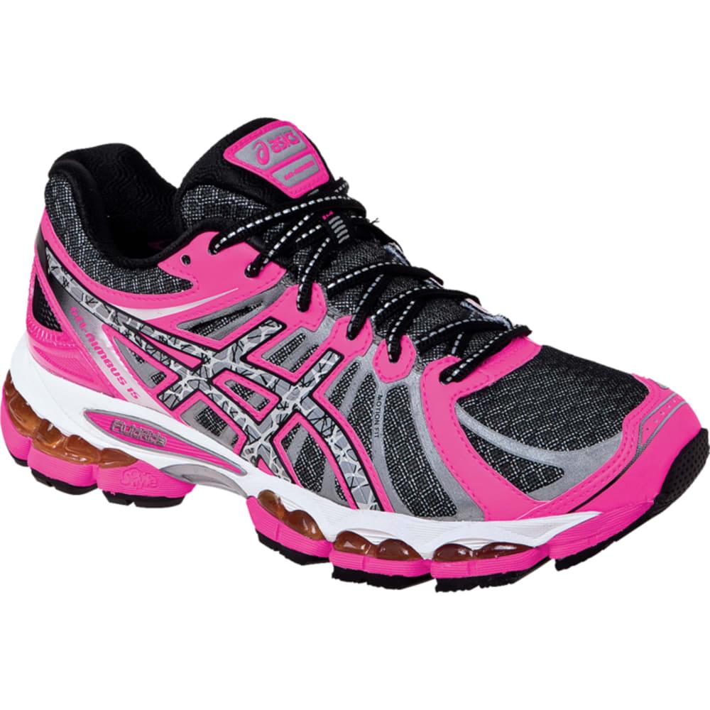 ASICS Women's GEL-Nimbus 15 Lite Show Shoes, Black/Coral - ONYX