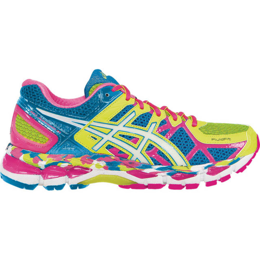 ASICS Women's GEL-Kayano 21 Road Running Shoes - ASSORTED
