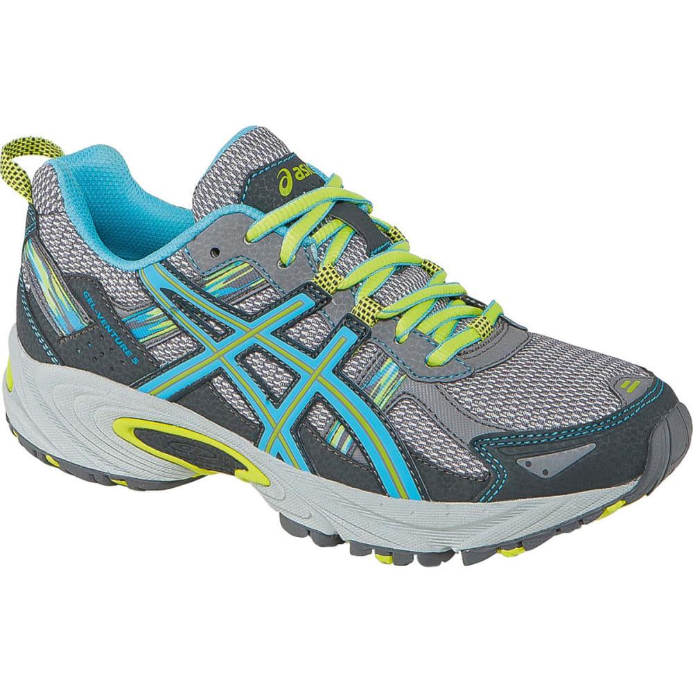 ASICS Women's GEL-Venture 5 Trail Running Shoes, Medium - SILVER