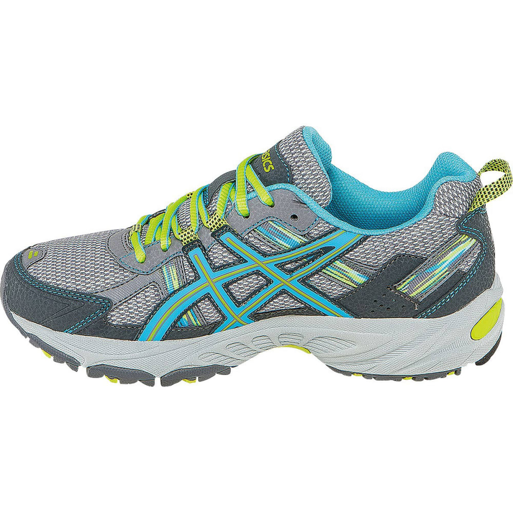 ASICS Women's GEL-Venture 5 Trail Running Shoes, Wide - SILVER