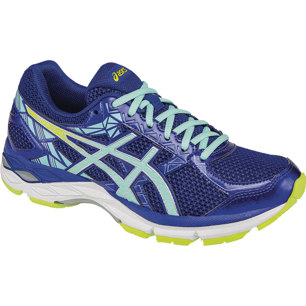 ASICS Women's Gel-Exalt 3 Running Shoes - NAVY/CORAL