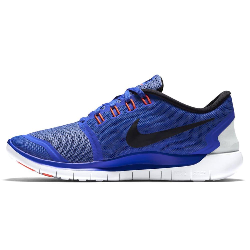 NIKE Women's Free 5.0 Running Shoes - RACER BL/CHALK-401