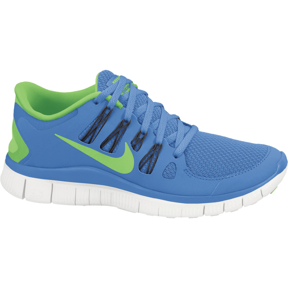 NIKE Women's Free 5.0 Running Shoes - BLUE