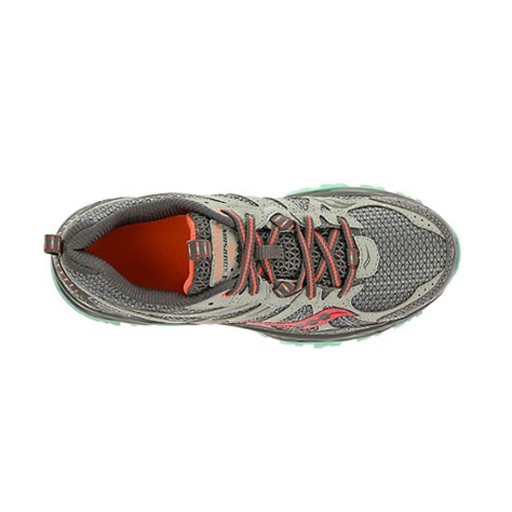 SAUCONY Women's Excursion TR8 Trail Running Shoes, Medium - NINE IRON