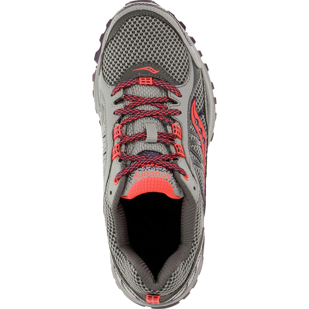 SAUCONY Women's Excursion TR9 Running Shoes - GREY/PLUM