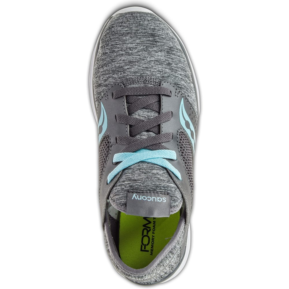 SAUCONY Women's Kineta Running Shoes - ASPHALT HEATHER