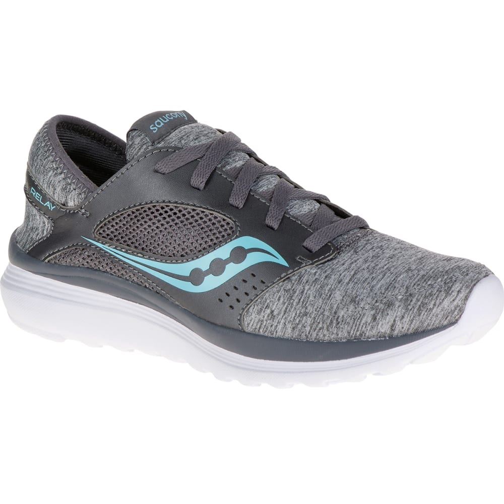 SAUCONY Women's Kineta Running Shoes - ASPHALT HEATHER