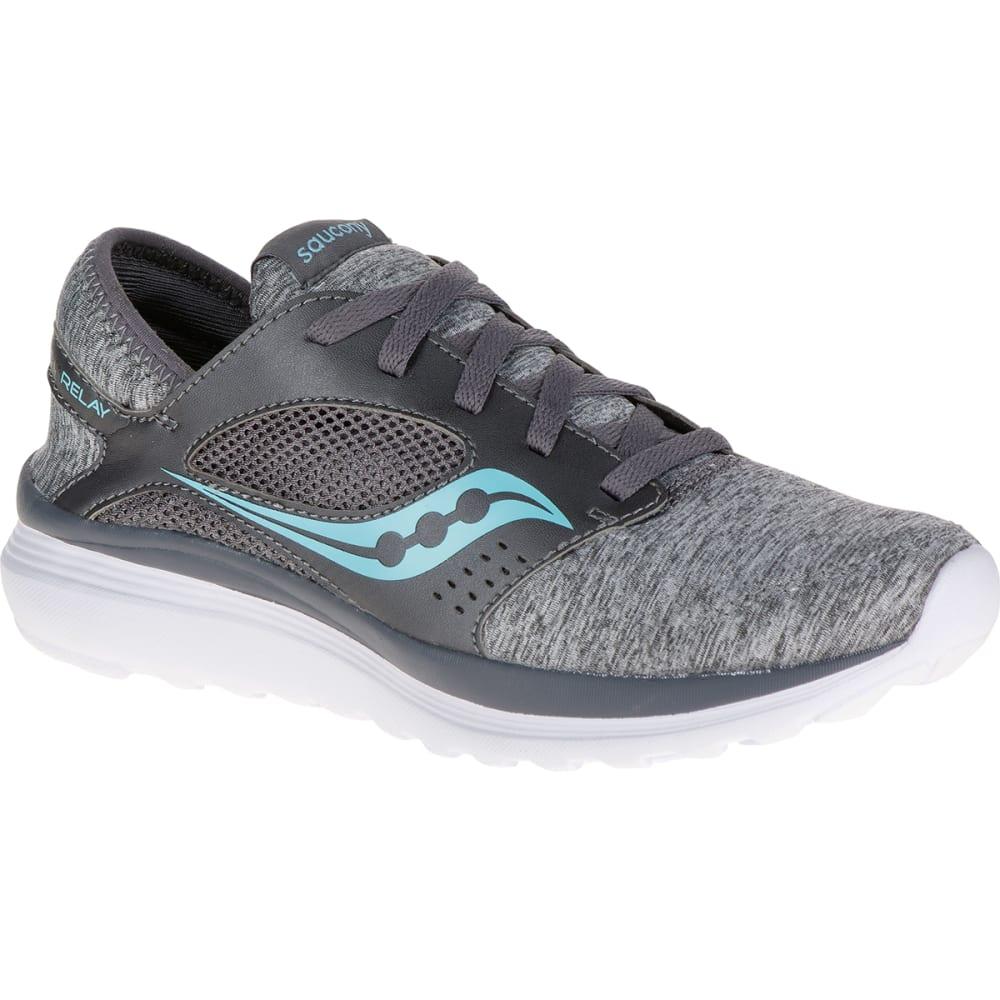 Saucony Women's Kineta Running Shoes - Black, 6