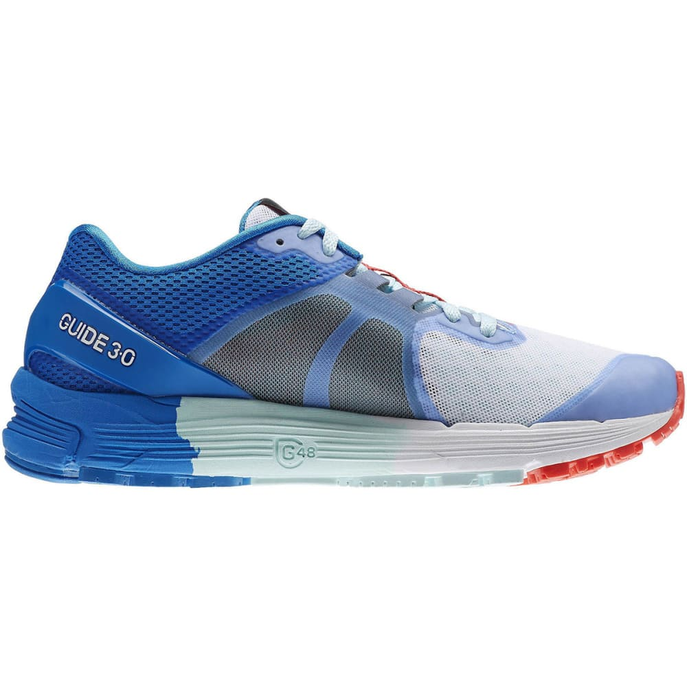 REEBOK Women's One Guide 3.0 Running Shoes - DEEP BLUE/SCATTER